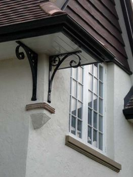 Eaves Bracket Detail in Arts and Crafts Style