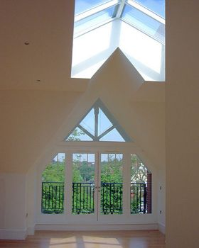 Skylight to Penthouse Flat